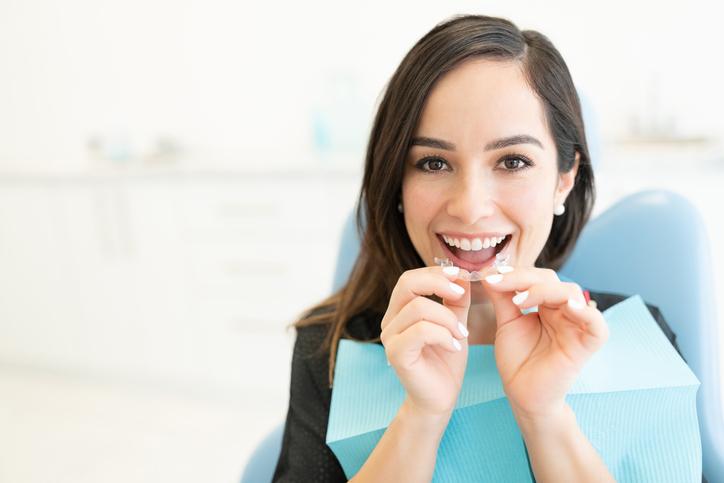 corrección del apiñamiento dental